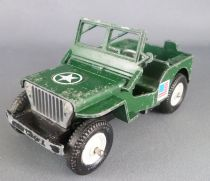 Britains Deetail - WW2 - American - Vehicle JeepBattle Damaged (ref 9786)