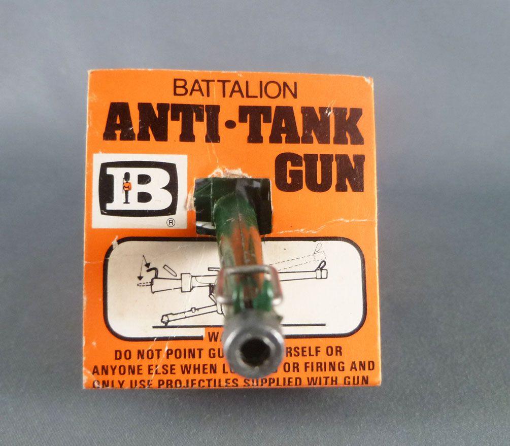 Britains Deetail - WW2 - Anglais - Canon Battalion Anti-Tank Gun Etat Neuf (réf 9720) 1