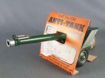 Britains Deetail - WW2 - Anglais - Canon Battalion Anti-Tank Gun Etat Neuf (réf 9720) 3