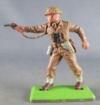 Britains Deetail - WW2 - Anglais - Officier avec Colt