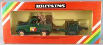 Britains Deetail - WW2 - Anglais-  Véhicule Land Rover & Canon Neuf Boite (Réf 9787)
