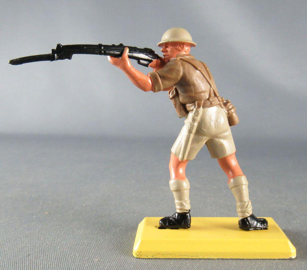 Britains Deetail - WW2 - Anglais 8ème Armée - Tireur Fusil debout Etat Neuf