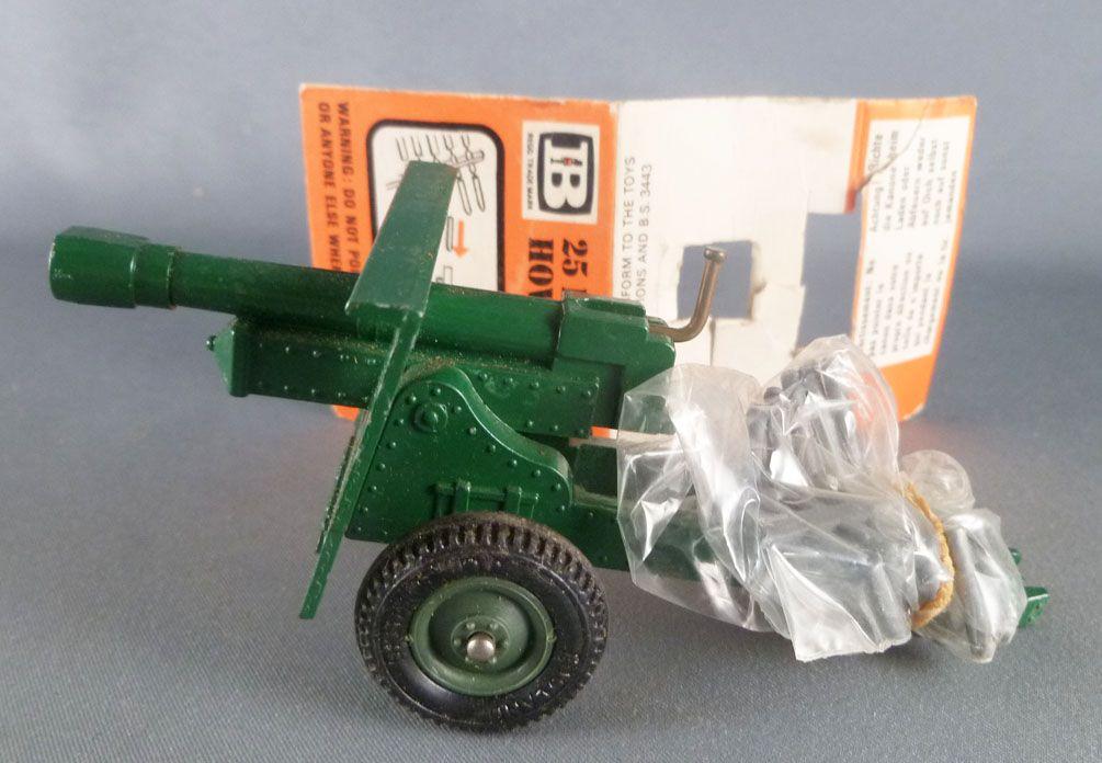 Britains Deetail - WW2 - British - 25 PDR Gun Howitzer Mint (ref 9704)