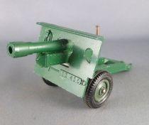 Britains Deetail - WW2 - British - 25 PDR Gun Howitzer no Shells (ref 9704)