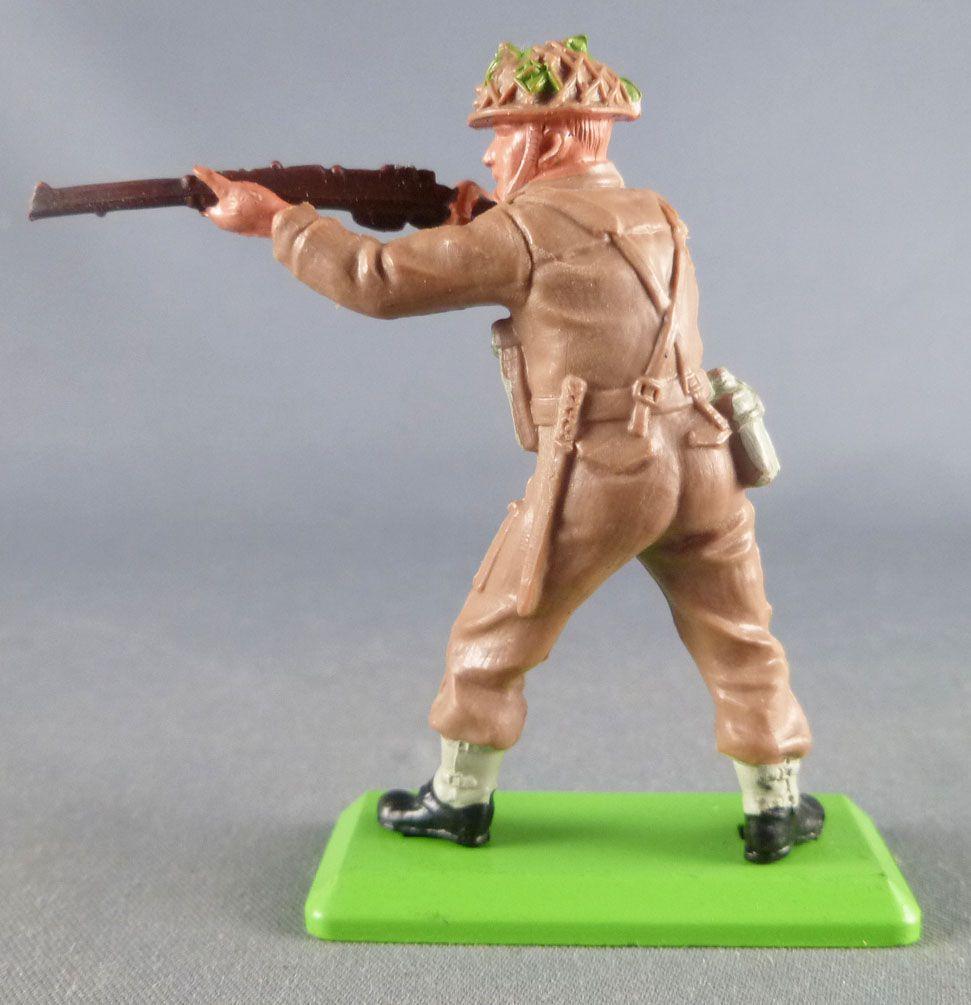 Britains Deetail - WW2 - British - Standing Firing Rifle