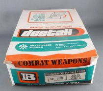 Britains Deetail - WW2 - German - Empty Counter Box for 12 Mortar and Crew ref 7333 on Display Card