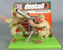 Britains Deetail - WW2 - Japanese - Recoiless Rifle & Crew Ref 7335 Mint