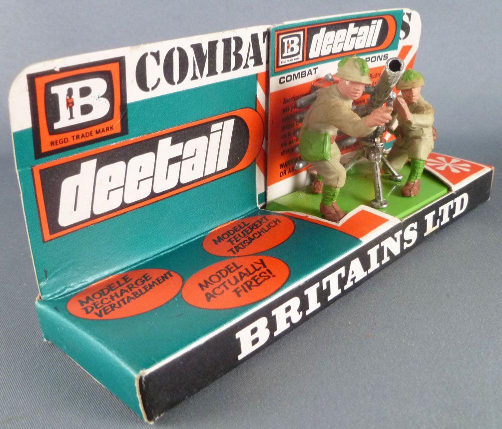 Britains Deetail - WW2 - Japonais - Canon sans Recul & Servants Réf 7335 Neuf Carte Présentoir