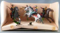 Britains Deetail 7405 - Cavalerie U. S. - Coffret 7th Cavalry 4 Cavaliers Neuf Boite