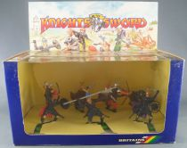 Britains Deetail 7741 - Moyen-Age - Coffret Knight of the Sword 7 Piétons Turcs Storm NB