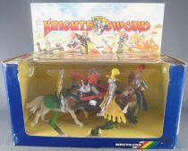 Britains Deetail 7744 - Moyen-Age - Coffret Knight of the Sword 4 Cavaliers NB 2