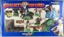 Britains Deetail 7790 - Moyen-Age - Coffret Knight of the Sword Cavaliers Piétons Dragon Catapulte NB