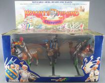 Britains Deetail 7803 - Moyen-Age - Coffret Knight of the Sword 3 Cavaliers Champion NB