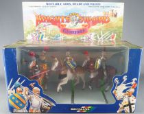 Britains Deetail 78044 - Moyen-Age - Coffret Knight of the Sword 3 Cavaliers Champion NB