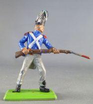 Britains Deetail Waterloo Francais garde impérial chargeant avec bayonnette