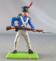 Britains Deetail Waterloo French Infantry charging with bayonet