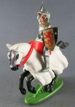 Britains Herald - Moyen-Age - Cavalier brandissant l\'épée bouclier avec lion