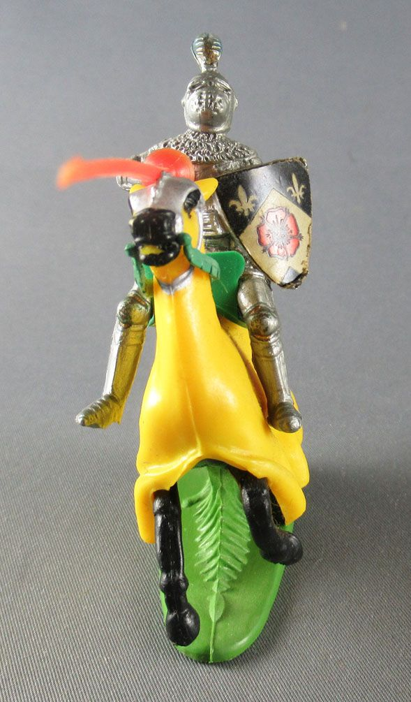 Britains Herald - Moyen-Age - Cavalier joutant lance rouge