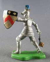 Britains Herald - Moyen-Age - Piéton Chevalier masse d\'arme & bouclier chevron
