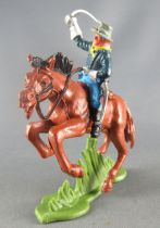 Britains Herald - U.S. 7th Cavalry - Mounted Officer brown horse 1
