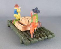 Britains Herald Cowboy Radeau avec 2 Figurines (réf 4601)