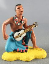 Britains Herald Musicien Guitariste Hawaïen