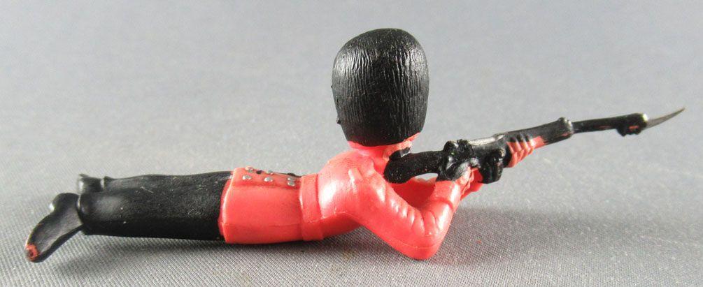 Britains Herald Soldat de Régiment Garde Anglais tireur fusil allongé