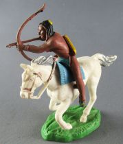 Britains Hong Kong - Indien - Cavalier archer cheval blanc