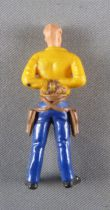 Britains Swoppets Cowboy Footed Prisonner (yellow)