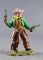 Britains Swoppets Cowboy Piéton Sheriff 2 révolvers