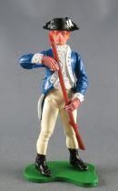 Britains Swoppets Guerre Indépendance Américain Piéton Chargeant son Fusil