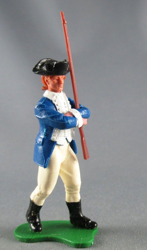 Britains Swoppets Guerre Indépendance Américain Piéton Marchant avec Fusil