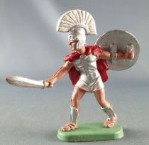 Britains Trojan fighting with sword white crest