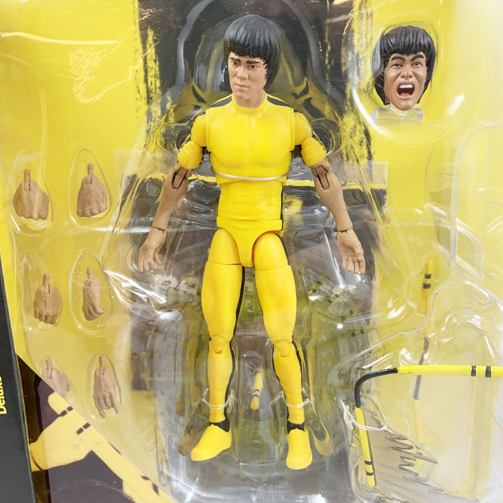 "Bruce Lee - ""Enter the Dragon\"" Yellow Jumpsuit - Diamond Select  figure"