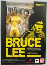 "Bruce Lee - ""Enter the Dragon\"" yellow suit - Figurine S.H.Figuart Bandai"