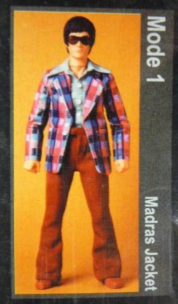 Bruce Lee - Medicom - Bruce Lee Fashion Show Series 01 Mode 01 (Madras Jacket)