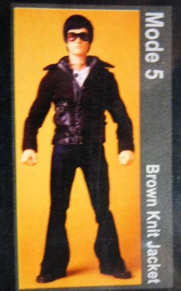 Bruce Lee - Medicom - Bruce Lee Fashion Show Series 01 Mode 05 (Brown Knit Jacket)