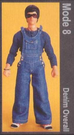 Bruce Lee - Medicom - Bruce Lee Fashion Show Series 2 Mode 8 (Denim Overall)
