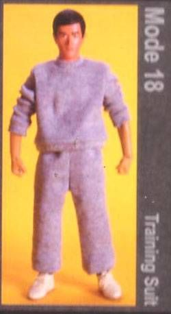 Bruce Lee - Medicom - Bruce Lee Fashion Show Series 3 Mode 18 (Training Suit)