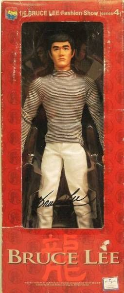 Bruce Lee - Medicom - Bruce Lee Fashion Show Series 4 Mode 23 (Border Shirt)