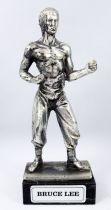 Bruce Lee - Statue en métal injecté 16cm - Daviland France 1978