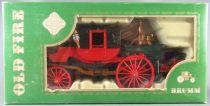 Brumm X5- Série Old Fire 1:43 - Voiture à Vapeur Pompiers de V. Bordino 1854 Neuve en Boite 1