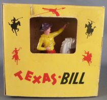 BS - Texas Bill Far-West - Cow-Boys - Cavalier Tieur pistolet Neuf Boite