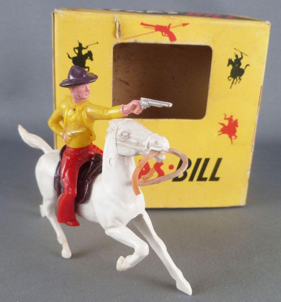 BS - Texas Bill Far-West - Cow-Boys - Cavalier Tieur pistolet Neuf Boite