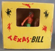 BS - Texas Bill Wild-West - Indians -Mounted Firing bow Mint in Box