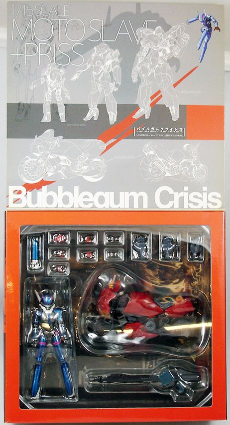 Bubblegum Crisis - Yamato - 1/15 scale Moto Slave & Priss