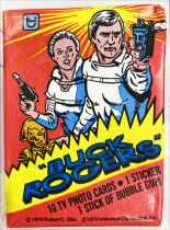 Buck Rogers - Topps Trading Bubble Gum Cards (1979) - Complete series of 88cards + 22 stickers + 1 wax