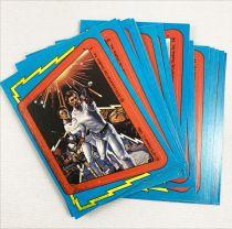 Buck Rogers - Topps Trading Bubble Gum Cards (1979) - Série complète 88 cartes + 22 stickers + 1 pochette