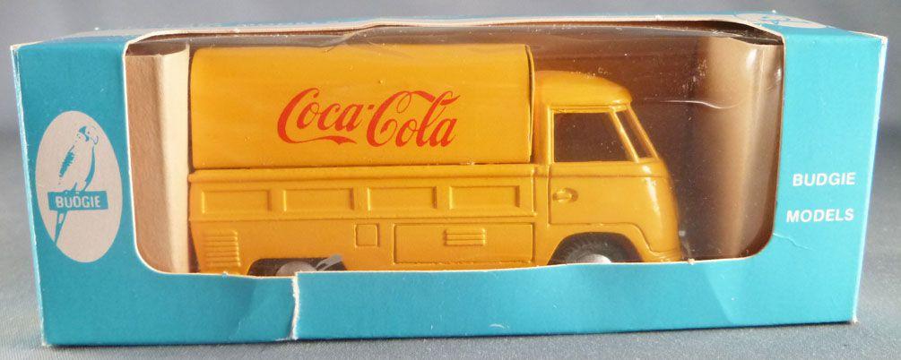 Budgie Vw Volkswagen T1 Transporter Pick Up Coca Cola Van Mint in Box