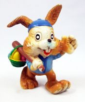 Bunny & Duckling - Maia Borges PVC Figure - Brown Bunny with baseball bat